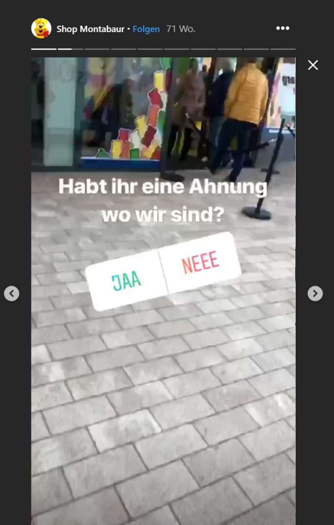 Instagram Story Sticker Frage Sticker 02