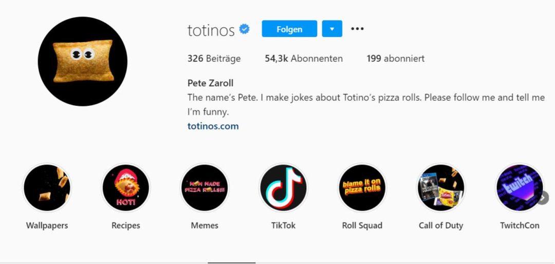 Instagram Bio Humor totinos