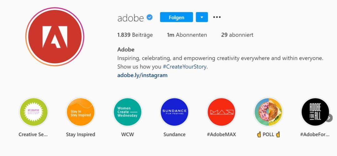 Instagram Bio packende Beschreibung