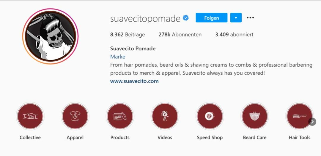 Instagram Bio Story Highlights