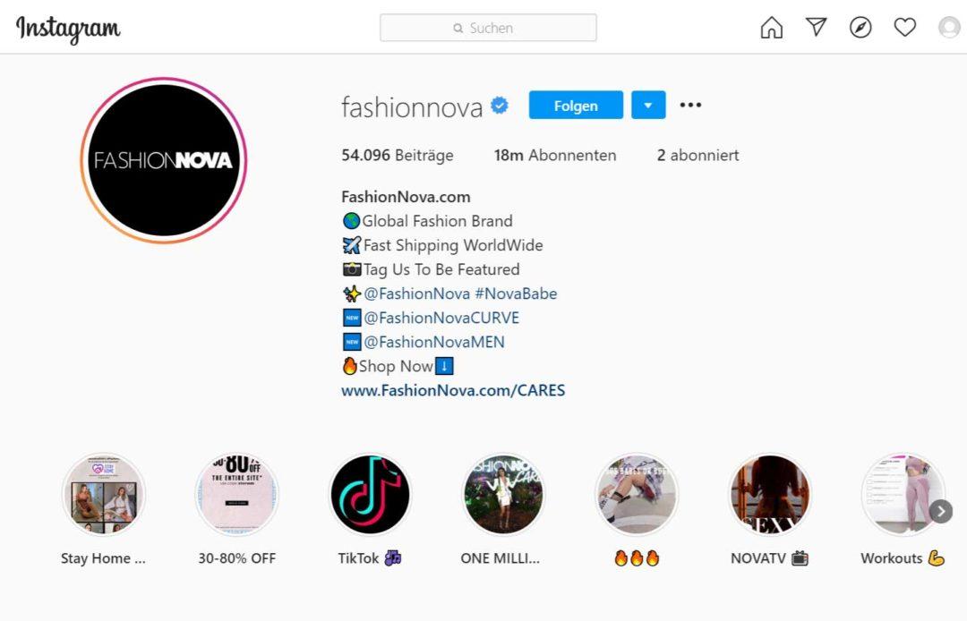 Instagram Bio Tags