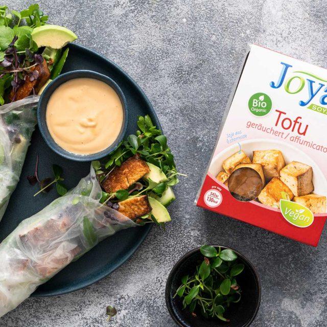 Mona Joya Rice Paper Rolls Tofu