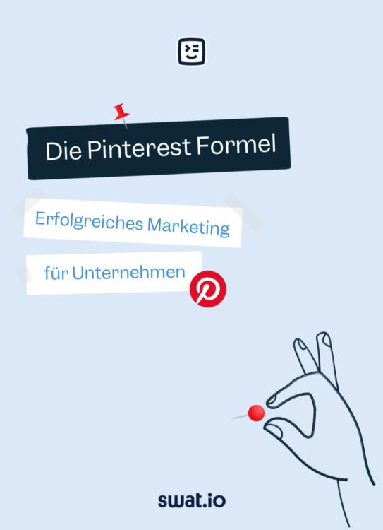Cover Pinterest Strategie für Unternehmen