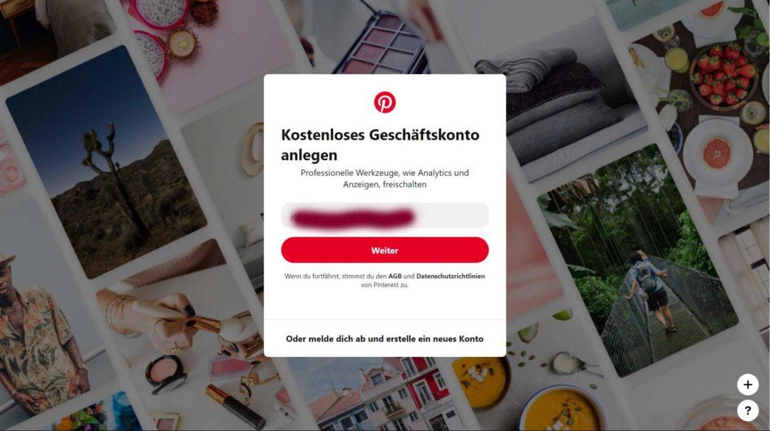 Pinterest Business Profil privates Konto umwandeln