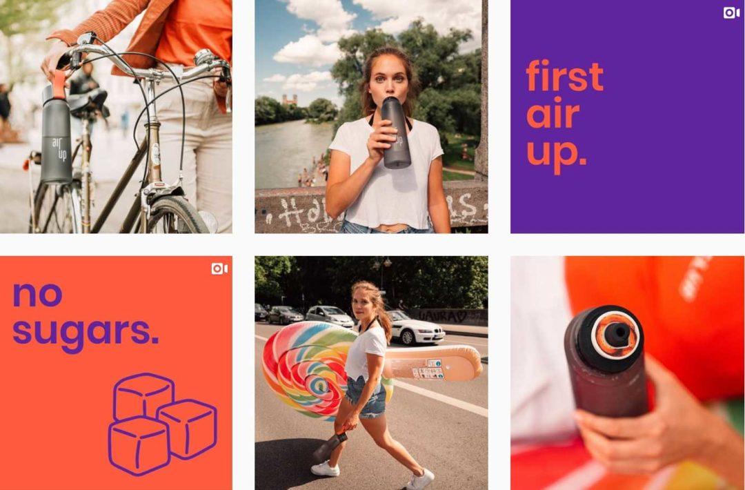 Instagram Verkaufen Farbwahl Air Up
