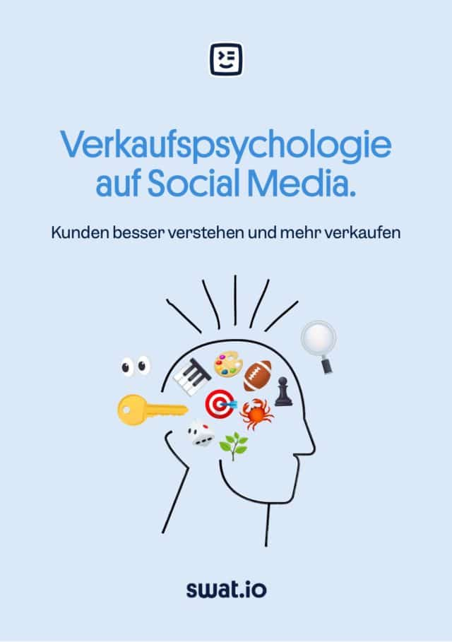 Verkaufspsychologie Cover flach