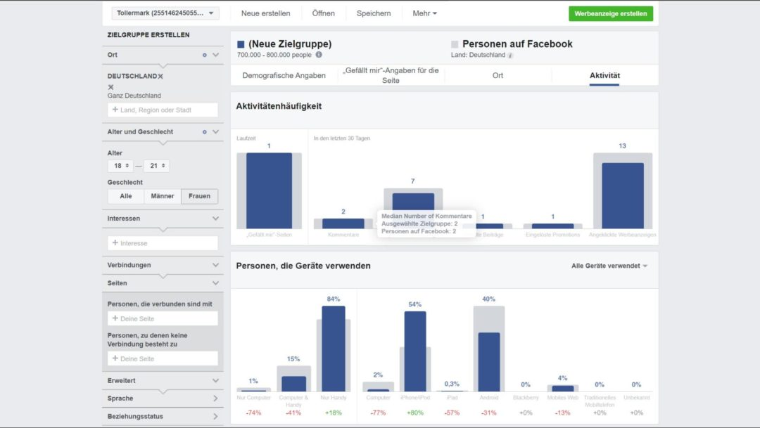 Facebook Hacks Audience Insights