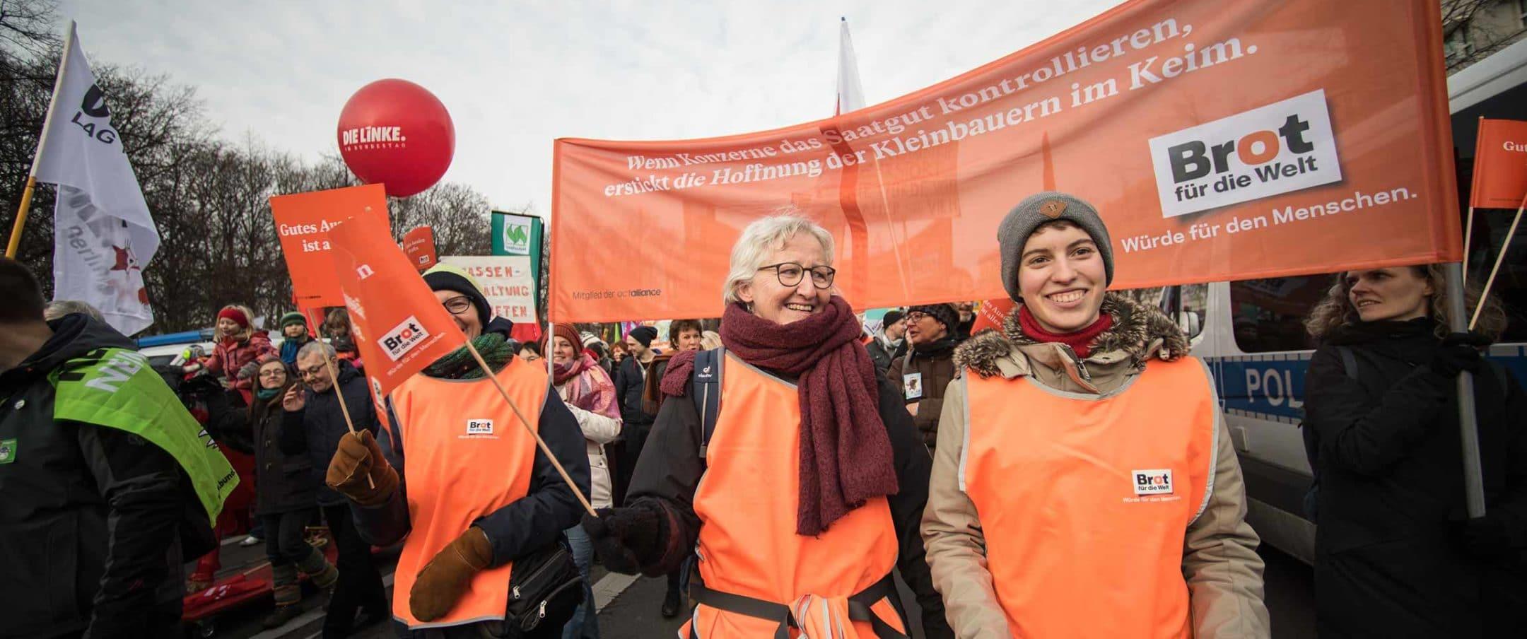 Brot für die Welt: Aktionismus